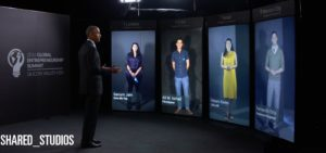 Obama meets 4 young people on virtual screens