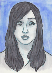 An illustration of YouTube star Rikki Poynter.