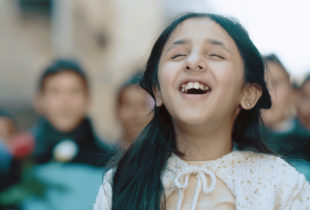 The sun rises from the rubble: Syrian children's journey of hope