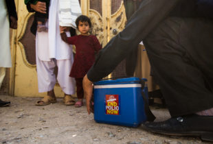 Crossing the finish line for polio eradication in Afghanistan