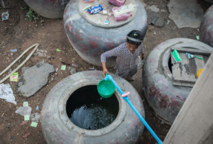 Using data to end open defecation in Cambodia