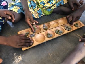 Uun jeu traditionnel malien